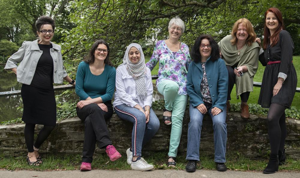Gruppenfoto ein Teil der SIRONA Frauen